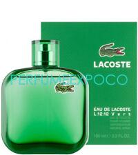 Lacoste Eau De Lacoste L.12.12 VERT / GREEN Cologne 3.3oz EDT Spr -SEALED- (BA16