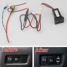 For TOYOTA C-HR CHR 16-17 Car Console 2 USB Connector Charger Switch Modify set