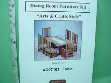 1:12 Scale Dollhouse Dining Set Kits | eBay