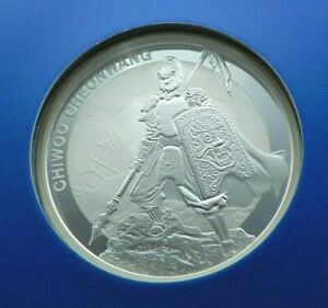 2016 Chiwoo Cheonwang Bullion Silver Medallion Fine Silver 999 Republic of Korea