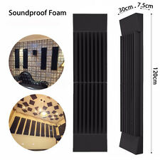Acoustic Wedge Studio Soundproof Panel Foam Board Sound Absorption Sponge Tiles