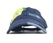 Cozumel MX Mexican Caribbean Navy Blue Baseball Cap Hat Adj Adult Size Cotton