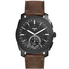 Orologio Smartwatch Uomo Fossil Q Machine FTW1163 con Cinturino in Pelle