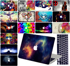 Laptop Accessories Hard Rubberized Case KB Cover For Macbook Pro Air 11 12 13 15