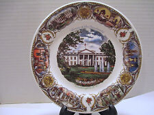 Vintage 1957 The White House Home of the Presidents Plate Washington D.C. Capsco