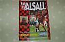 Walsall v Lincoln Programme 15th Nov 1997 FAC