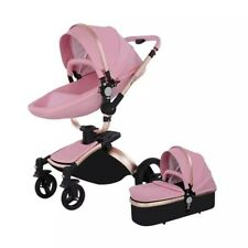 Baby Stroller Bassinet Carriage Combo 360 Rotation Luxury for Newborn & toddler