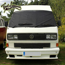 VW T25 Front Window Screen Cover Frost Black Out Blind Windscreen Wrap Frost