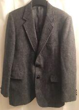 Gray Hardwick HARRIS TWEED Scottish WOOL Preppy Sport Coat BLAZER Jacket 38R