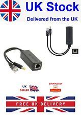 More details for active poe power over ethernet splitter adapter 48v to 12v 2amp