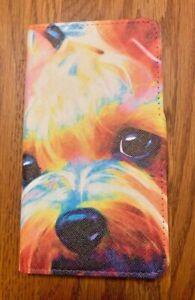 FLIP CASE FOR APPLE iPhone XR |DOG CANINE Yorkie TERRIER