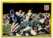 1967 Philadelphia #193 Cleveland Browns vs. New York Giants Play (Leroy Kelly)