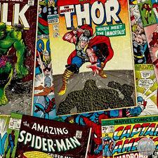 140106209 -New Marvel Comics Hulk Iron Man Thor Captain America Spiderman Fabric