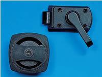 CARAVAN/MOTORHOME CARALOC 640 DOOR LOCK HANDLE WITH KEYS - LEFT HAND