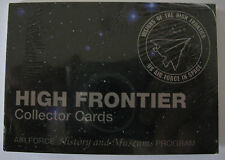 USAF High Frontier Collector Cards