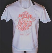 Hombre French Connection Camiseta FCUK Rock Fest 96.5cm XS chica MEDIANA BLANCO