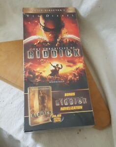 Chronicles of Riddick Unrated Director's Cut DVD Big Box with Novelization