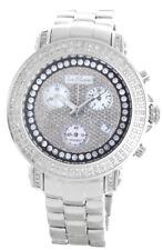Joe Rodeo Womens Stainless Steel Black 1ct Diamond Dial Watch JR06