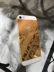 Apple iPhone SE (1st Gen ) 24K Gold Plated Edition 16GB Unlocked