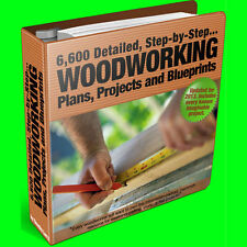 BIG Collection of 7,610+ Fine, Highland, Popular Woodworking Plans ~