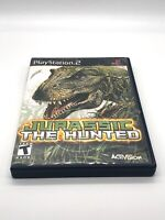 Jurassic: The Hunted (Sony PlayStation 2, 2009) Tested. No Manual