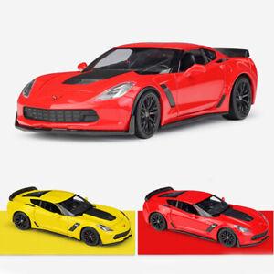 1:24 2017 Chevrolet Corvette Z06 Model Car Diecast Vehicle Replica Collection