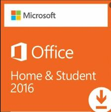Office Home and Student  2016 for 1 PC. Key Card, no CD nor DVD