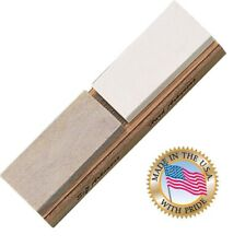 for Edge Pro Mountain View Arkansas Whetstone 6 x 1 x 0.25 American Natural Sharpening Stone of Estimated 600 grit with Aluminum Mounting