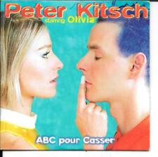 CD SINGLE 3 TITRES--PETER KITSCH STARRING OLIVIA--ABC POUR CASSER--1996