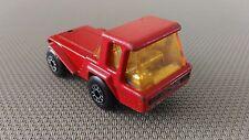Voiture Miniature Matchbox SuperFast  « N°37 Skip Truck 1976 » Bon Etat.