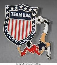 OLYMPIC PINS 2012 LONDON ENGLAND TEAM USA NOC SPORTS SOCCER FOOTBALL US LOGO