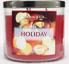 1 Bath & Body Works HOLIDAY 3-Wick Large Candle