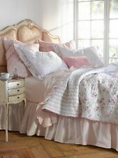Rachel Ashwell Simply Shabby Chic CHERRY BLOSSOM Quilt & Shams NEW Set Pink Rose