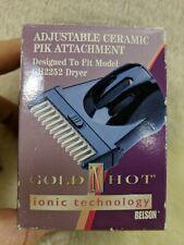 Belson Adjustable Ceramic Pik Attachment GH2253 for GH2252 Dryer