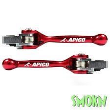 Apico Flexi Freno & Clutch Trials Palancas Beta Evo 250 290 300 Grimeca Ajp Rojo