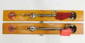 (2) VNTG Ice Fishing Poles