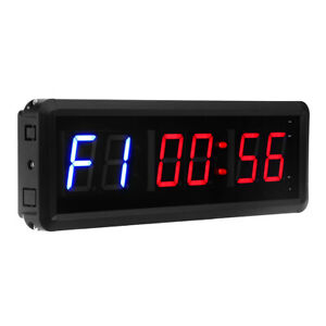 "1.5"" 6 Digits GYM Crossfit Timer Workouts Timer Count Down/Up Clock w/Remote"