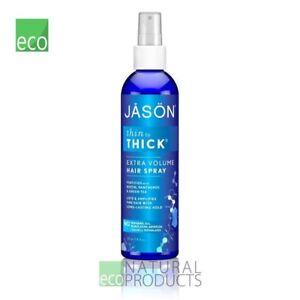 Jasons Natural Thin To Thick Extra Volume Hair Spray 240ml