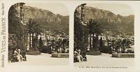 MONACO Monte-Carlo Le Casino, Photo Stereo Vintage Argentique PL61L1179