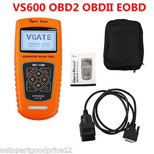 OBD2 EOBD CAN BUS Car Fault Code Scanner Diagnostic Scan Tool