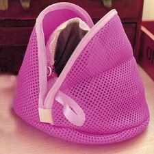 Women Bra Laundry Lingerie Washing Hosiery Saver Protect Mesh Small Bag Pink