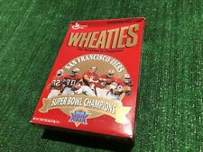 Vintage San Francisco 49ers Wheaties Box Super Bowl XXIX Champions Sealed
