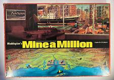 Vintage Waddingtons Mine A Million Board Game 1965 * Not Complete