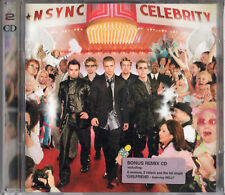 """N*SYNC / NSYNC """"CELEBRITY"""" RARE 2 CD SET / NELLY - JUSTIN TIMBERLAKE - AS NEW!!"""