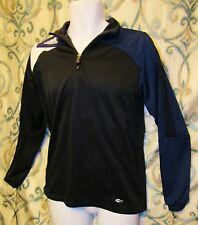 ADIDAS Youth XL ClimaCool Clima365 Jacket Black Blue White Pullover Athletic