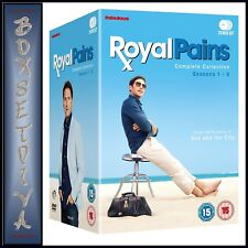 ROYAL PAINS - COMPLETE COLLECTION - SEASONS 1 2 3 4 5 6 7 & 8  **BRAND NEW DVD**
