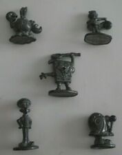 SpongeBob SquarePants Monopoly Viacom 2005 Game Player Metal 5 x Figures Pieces