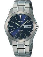 SEIKO SGG729P1,Men QUARTZ,Titanium case & bracelet,Sapphire glass,100m WR,SGG729