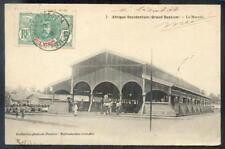 COTE D IVOIRE 1912 ANSICHTSKARTE MARCHE(B2913
