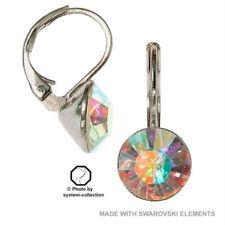 Mode-Ohrschmuck mit Kristall-Hakenverschluss Legierung